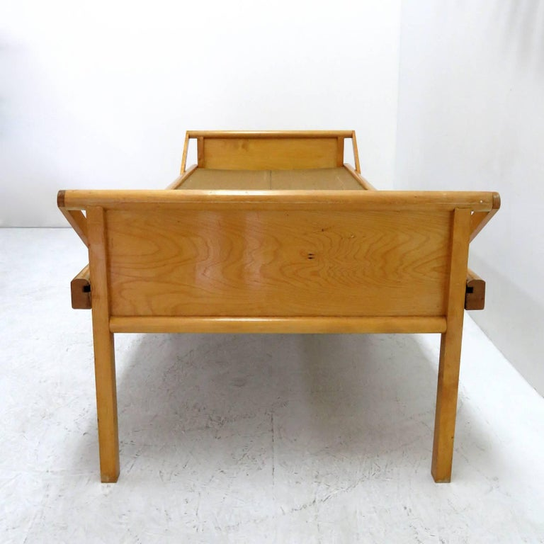Scandinavian Modern Folding Bed by Brdr. Johansson For Sale
