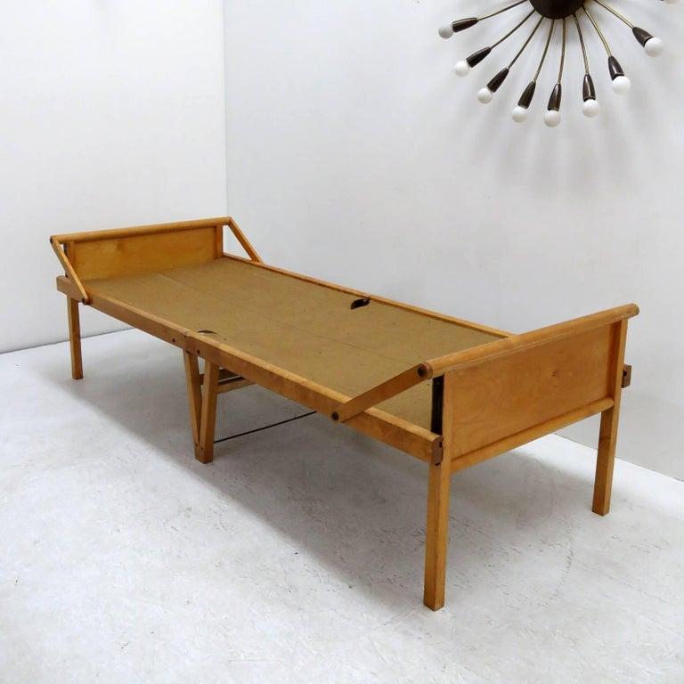 Swedish Folding Bed by Brdr. Johansson For Sale