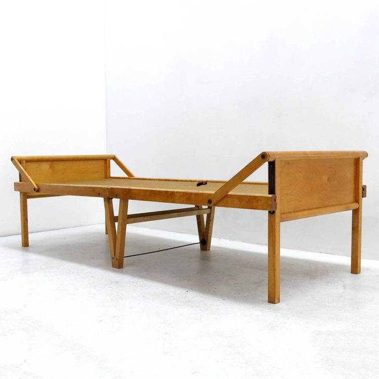 Mid-20th Century Folding Bed by Brdr. Johansson For Sale