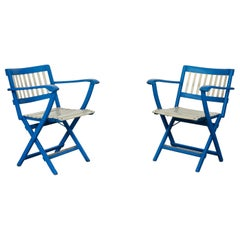 Folding Chairs from Fratelli Reguitti, 1960s, Set of 2
