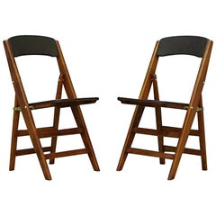 Folding Chairs Retro Original Vintage