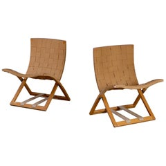 Folding Chairs, Sweden, 1960s