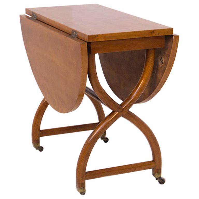Folding Coffee Table Attributed Paolo Buffa, 1950s
