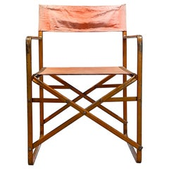 Folding Director's Chair Vintage in the Style of Gae Aulenti 1964 Zanotta April