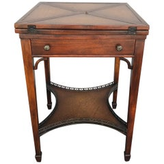 Folding Handkerchief Game Table by Theodore Alexander