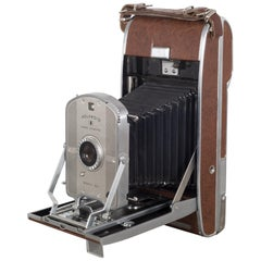 Folding Polaroid Land Camera Model 95B, circa 1957