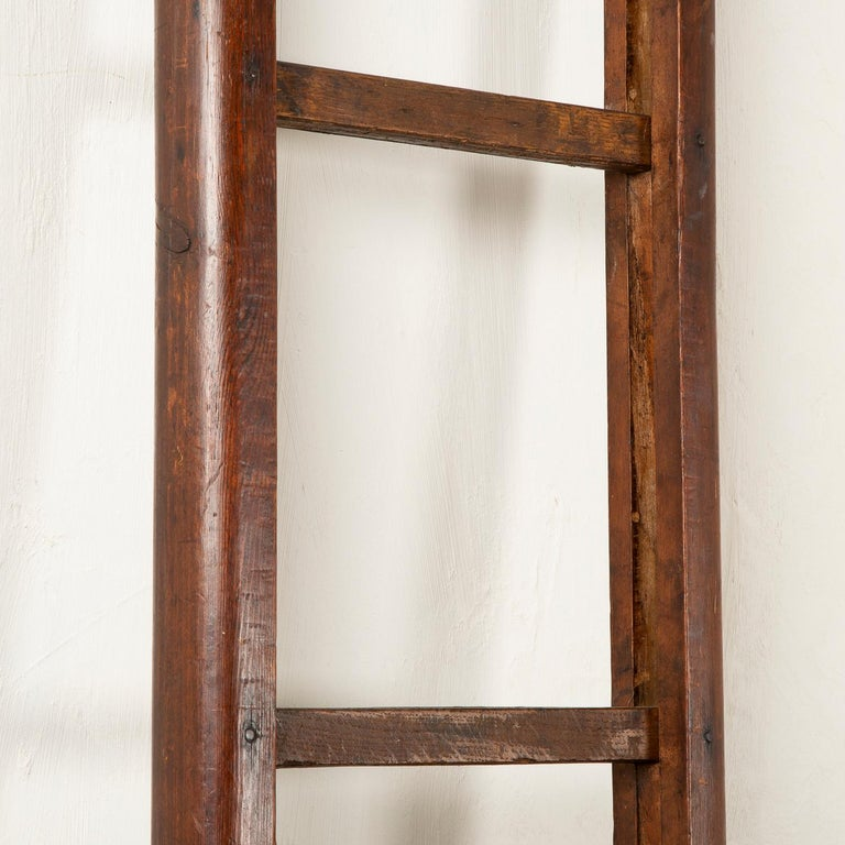 Folding Pole Ladder In Good Condition For Sale In London, GB