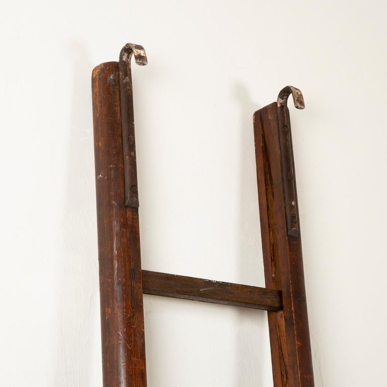 19th Century Folding Pole Ladder For Sale