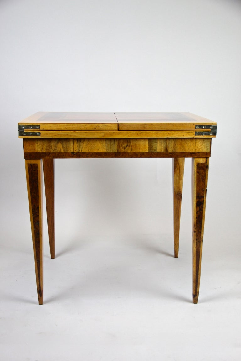 Folding Side Table 18th Century Josephinism Period, Austria, circa 1790 For Sale 5