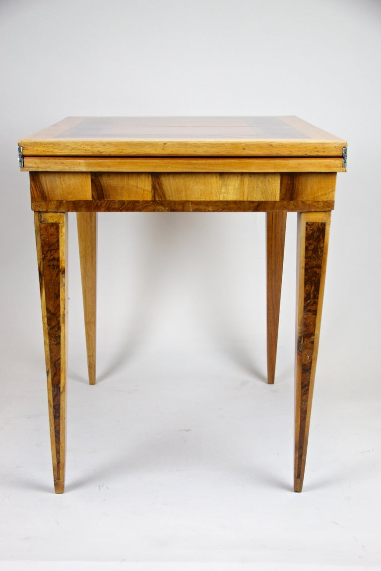 Folding Side Table 18th Century Josephinism Period, Austria, circa 1790 For Sale 6