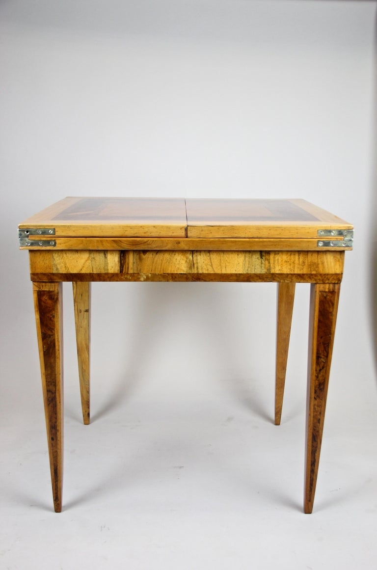 Folding Side Table 18th Century Josephinism Period, Austria, circa 1790 For Sale 7