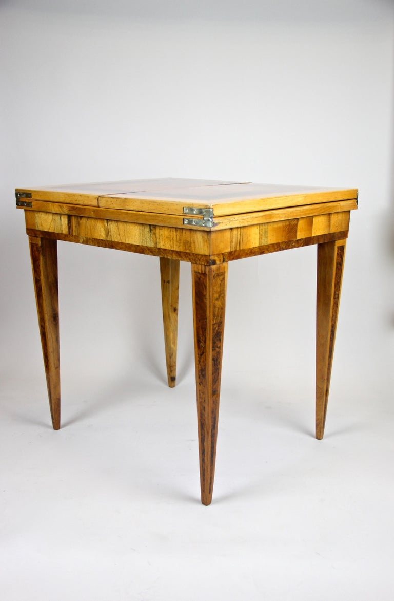 Folding Side Table 18th Century Josephinism Period, Austria, circa 1790 For Sale 8