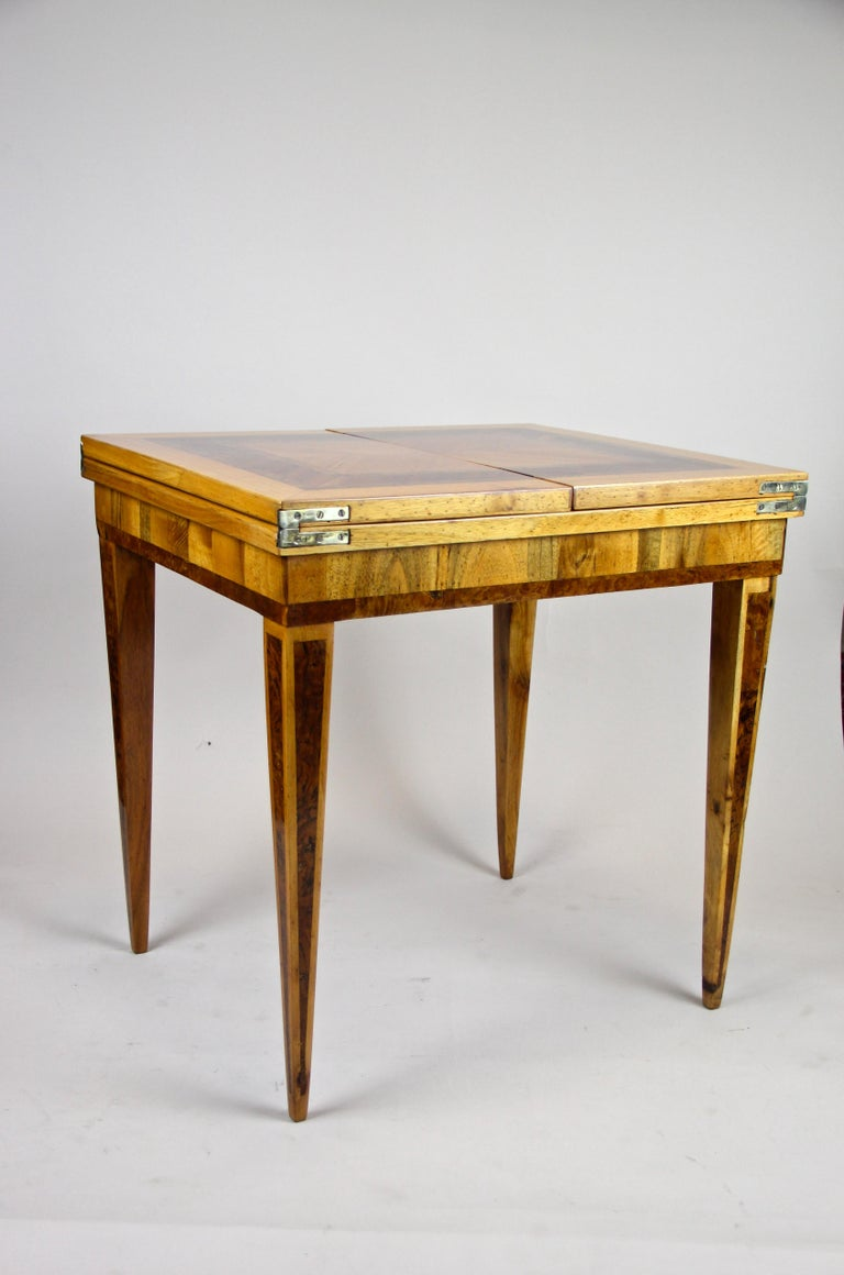 Folding Side Table 18th Century Josephinism Period, Austria, circa 1790 For Sale 2