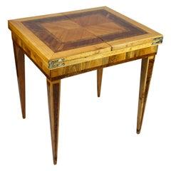 Folding Side Table 18th Century Josephinism Period, Austria, circa 1790