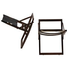 Folding Stools, Designed by Peter Hvidt and Orla Mölgaard Nielsen for Ludvig Pon