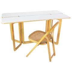 Folding Table by Giovanni Offredi for MC Selvini, 1970s