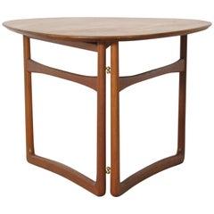 Folding Table by Peter Hvidt & Orla Mølgaard-Nielsen for France & Daverkosen
