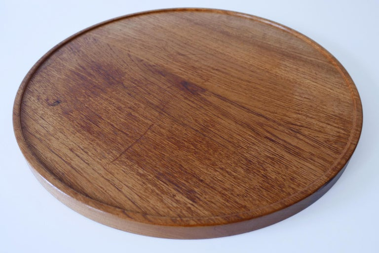 Folding Tray Coffee Table AT35 by Hans Wegner 'Attr.' for Andreas Tuck, 1960s For Sale 3