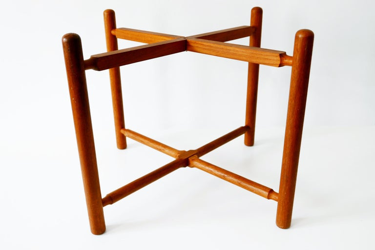 Folding Tray Coffee Table AT35 by Hans Wegner 'Attr.' for Andreas Tuck, 1960s For Sale 10