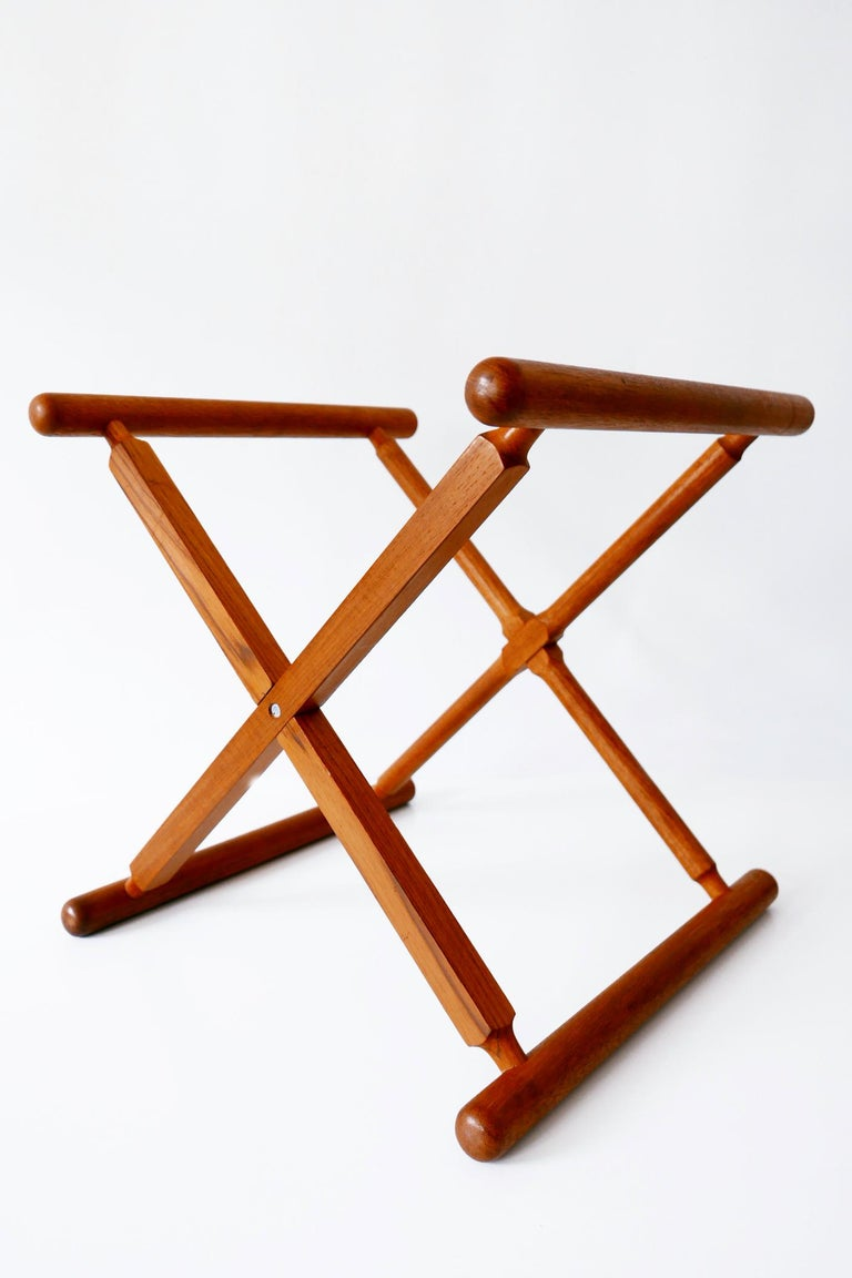 Folding Tray Coffee Table AT35 by Hans Wegner 'Attr.' for Andreas Tuck, 1960s For Sale 12