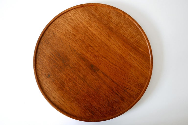 Folding Tray Coffee Table AT35 by Hans Wegner 'Attr.' for Andreas Tuck, 1960s For Sale 1