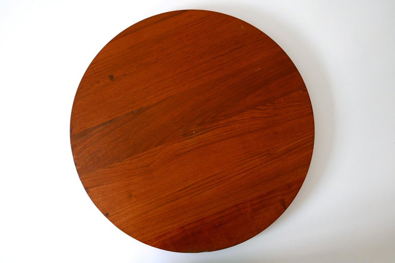 Folding Tray Coffee Table AT35 by Hans Wegner 'Attr.' for Andreas Tuck, 1960s For Sale 2