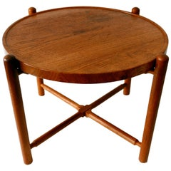 Folding Tray Coffee Table AT35 by Hans Wegner 'Attr.' for Andreas Tuck, 1960s