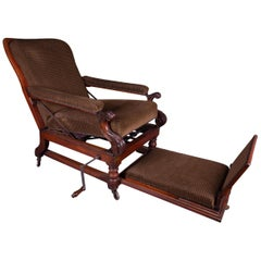 Campaign Chair Alderman Mahogany  - circa 1850