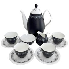 "Foley Coffee Service for 4, ""Domino"" Midcentury, 1957"