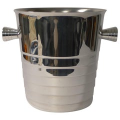 Folio Champagne Bucket or Wine Cooler by Maison Christofle, Paris