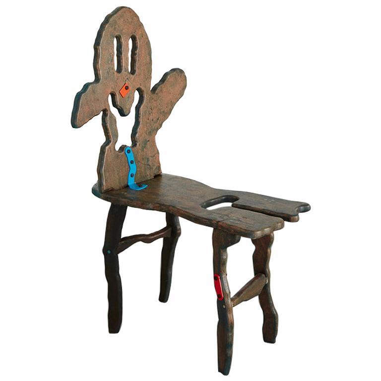 """""""Folk #14"""" Sculptural Chair by Serban Ionescu"""