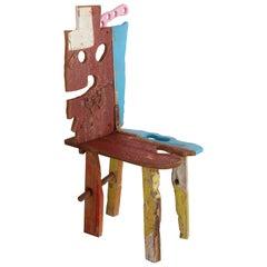 """""""Folk #15"""" Sculptural Chair by Serban Ionescu"""