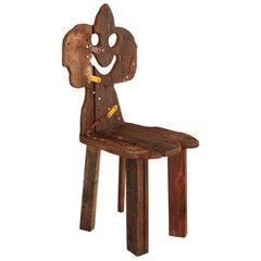 """""""Folk #16"""" Sculptural Chair by Serban Ionescu"""