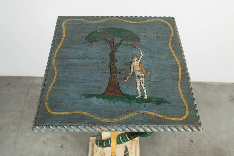 American Folk Art Adam and Eve from Midwest Lodge For Sale