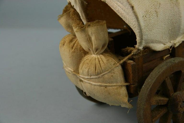 Folk Art Detailed Model of a Conestoga Wagon For Sale 1