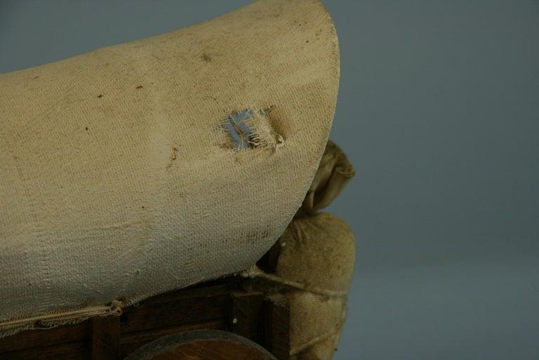 Folk Art Detailed Model of a Conestoga Wagon For Sale 4