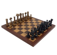 Folk Art Mechanic's Chess Set