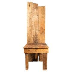 Folk Art, Minor Chair, France, circa 1950