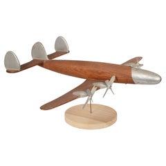 Folk Art Model of a Lockheed Constellation Airliner