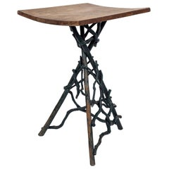 Folk Art Root and Twig Stand