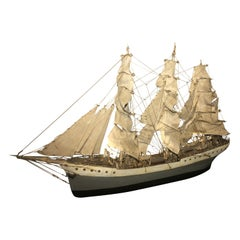 Folk Art Ship Model