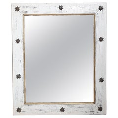 Folk Art Star Mirror