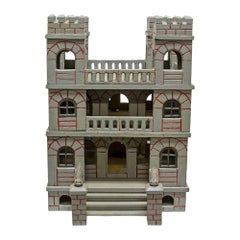 Folk Art Toy Castle