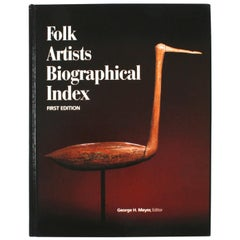 Folk Artists Biographical Index, First Edition