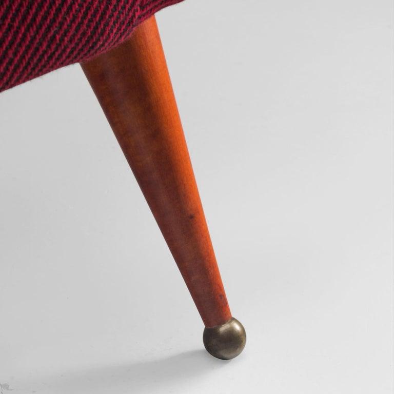 Brass Folke Jansson 'Tellus' Sofa For Sale