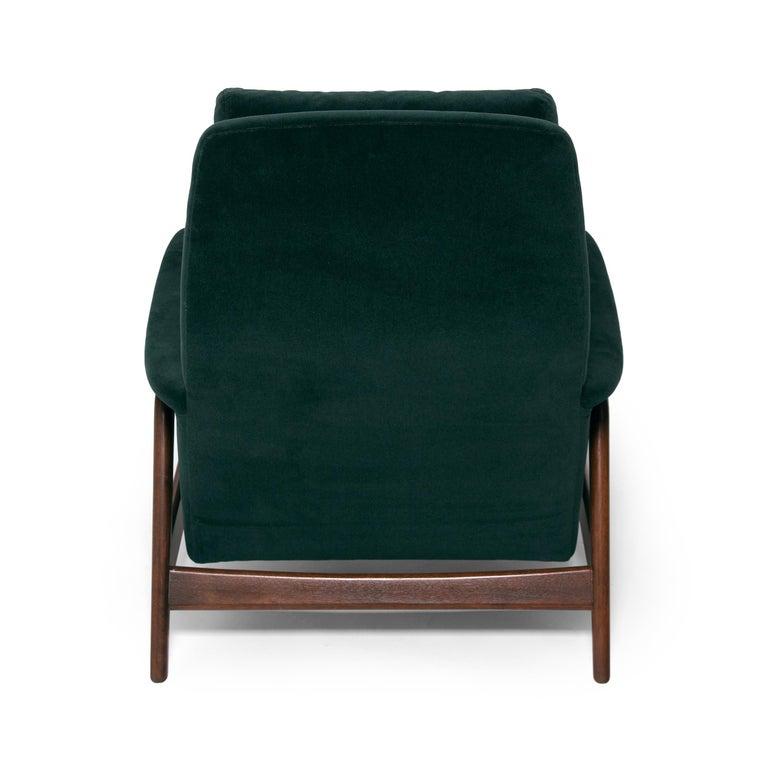 Mohair Folke Ohlsson Dux Profil Lounge Chair Set For Sale