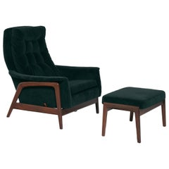 Folke Ohlsson Dux Profil Lounge Chair Set