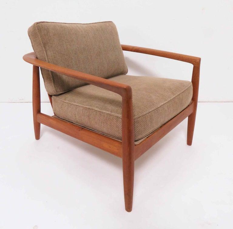 Pleasant Folke Ohlsson For Dux Danish Modern Teak Lounge Chair Circa Machost Co Dining Chair Design Ideas Machostcouk