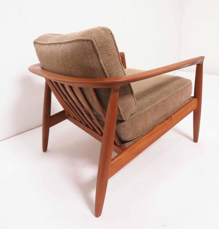 Sensational Folke Ohlsson For Dux Danish Modern Teak Lounge Chair Circa Machost Co Dining Chair Design Ideas Machostcouk