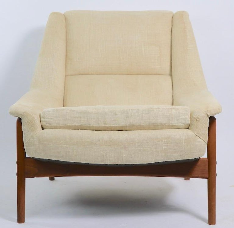 Swedish Folke Ohlsson for DUX Lounge Chair For Sale